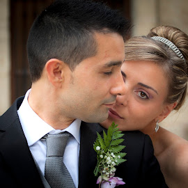 N/T by Antonio Cantabrana - Wedding Bride & Groom ( ella, el, wedding, boda, vitoria )