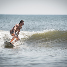 by Justin Brady - Sports & Fitness Surfing ( obx, surfing, nc, waves, summer, ocean, longboard, surf,  )