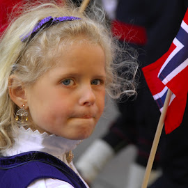 Norway National Pride by Joe Dries - Babies & Children Child Portraits