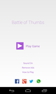 Battle of Thumbs - Free - screenshot