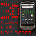 3D Clock Live Wallpaper icon