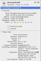 Screenshot of SignMyPad Pro