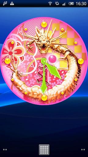 文殊菩薩☆龍神時計