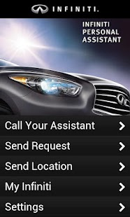 Infiniti Personal Assistant CA - screenshot