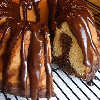 Black and White Pound Cake