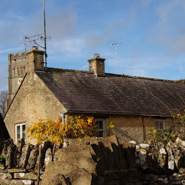 Northleach by Diane Dunn - City,  Street & Park  Historic Districts ( cotswolds; autumn )