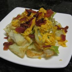 DeeAnn's Cheesy Bacon Cabbage