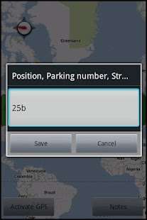 Parking Remember - screenshot