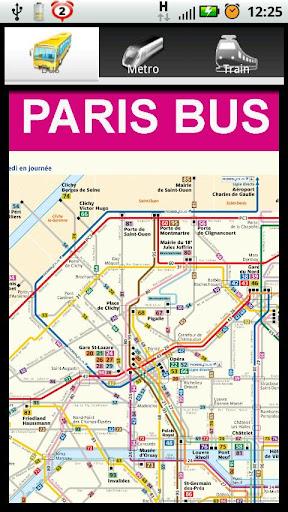 巴黎旅行必備城市地圖