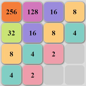 2048 Puzzle game (no Ads)