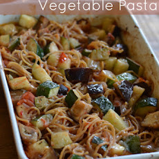Roasted {Summer} Vegetable Pasta