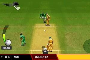 Screenshot of T20 Premier League 2013 Trial