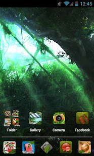 Nature HD Apex/Nova Theme - screenshot