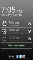 Screenshot of touchAlarm: Fun Alarm Clock