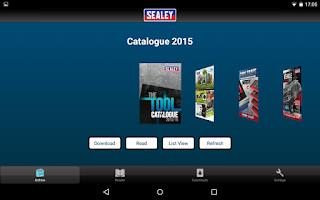 Screenshot of Sealey Group