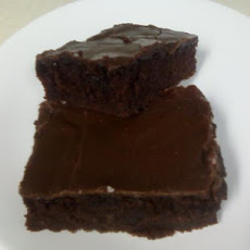 Buttermilk Brownies With Frosting