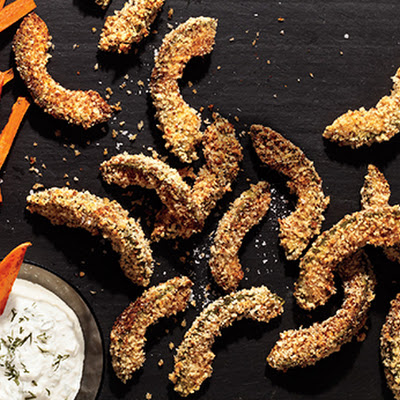Hot and Crunchy Avocado Fries
