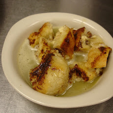 Creole Bread Pudding with Whiskey Sauce