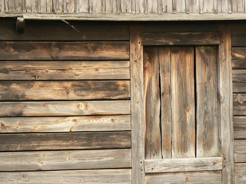 Borowiec, stara chata