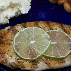 Chicken Breasts in Ginger Lime Sauce