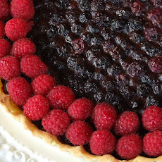 Blueberry- Raspberry Tart