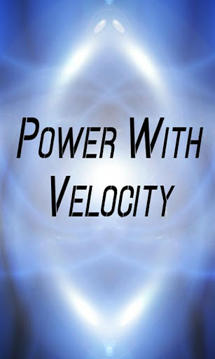 Power with Velocity Calculator