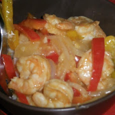 Cajun Shrimp Stir Fry