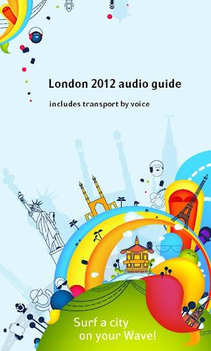 London 2012 audio guide