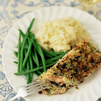 Horseradish Crusted Salmon