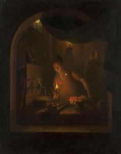 RIJKS: Adriaan Meulemans: painting 1817