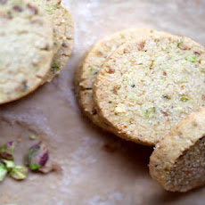 Pistachio Shortbread Cookie Recipe