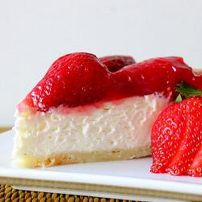 Two Tier Strawberry Pie