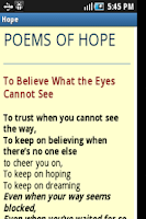 Screenshot of Hope in Difficult Times