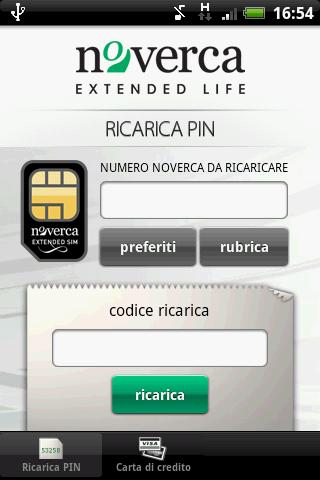 Ricarica SIM