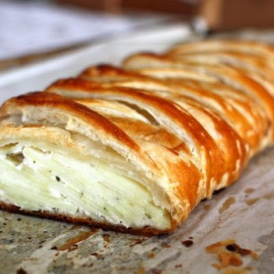 Potato Rosemary Strudel