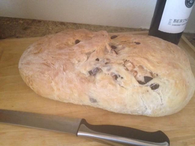 Kalamata Olive And Garlic Bread Recipe   Yummly