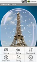 Screenshot of Snow Globe Creator