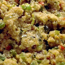 Andouille Sausage and Corn Bread Stuffing