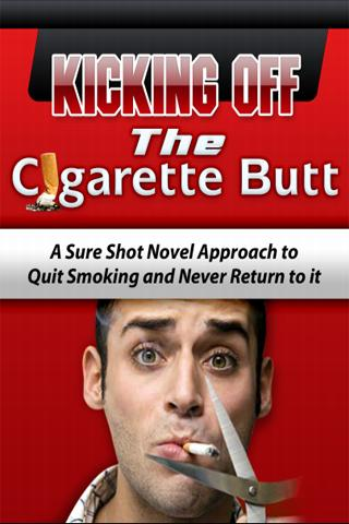Kicking off The Cigarette Butt
