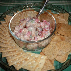 Mediterranean Chicken Cracker Topper
