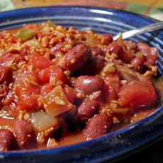 Two Bean Chili (Vegetarian)