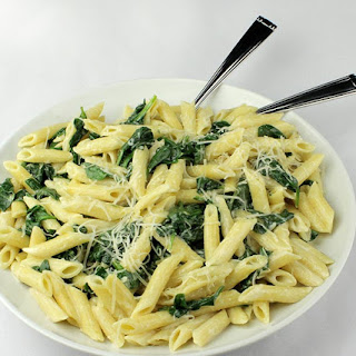Penne Spinach Cream Sauce Recipes