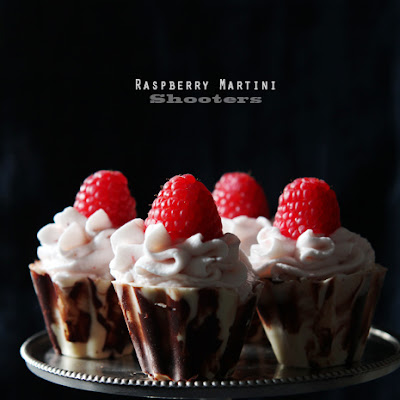 Rasberry Martini Mousse Shooters