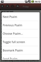 Screenshot of OKtm Psalms