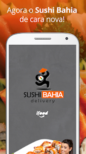 Sushi Bahia Delivery - screenshot