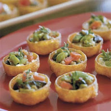 Bruschetta-Goat Cheese Cups
