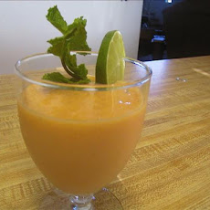 Mango and Papaya Smoothie