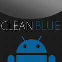 GO SMS Clean Blue Theme icon