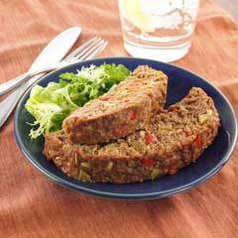 Souperior Meatloaf With Bell Peppers