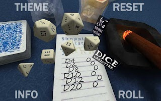 Screenshot of DICE UNLIMITED